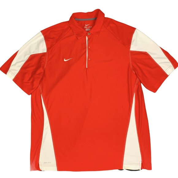 Nike Dri-Fit Polo Shirt Colorblock S/S Polyester